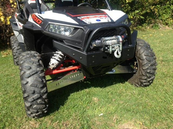 EXTREME METAL PRODUCTS-EMP RZR  Extreme Front  Bumper/Brush Guard with Winch Mount (RZR 1000 XP and 2015-16 RZR 900 XP) - planetrzr.com