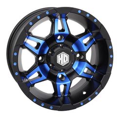 STI-HD7 Radiant Wheels Choose Blue Red or Orange 14x7