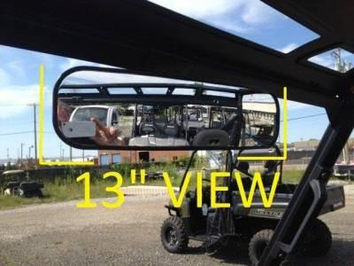 "Emp 2015-2016 Ranger 13"" Panoramic Mirror/ranger Xp900 (with Pro-fit Cage)"