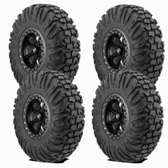 EFX MotoVator 30-9.5-16 on MSA M31 Lok2 Satin Black Beadlock 16X7