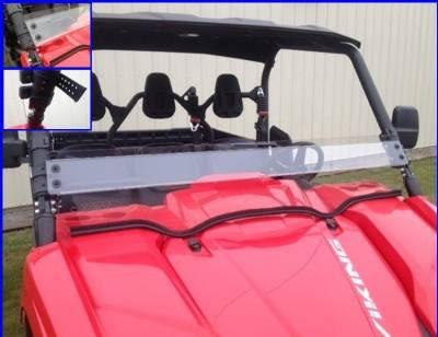 Emp Viking Half Windshield / Wind Deflector