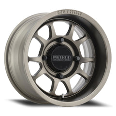METHOD 409 UTV Bead Grip Wheel | STEEL GREY