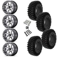 "MSA Lok 14"" Wheels 32"" Crawler XG Tires"