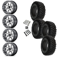 "MSA Lok 14"" Wheels 30"" Crawler XR Tires"