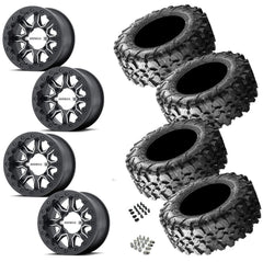MSA R Forged F1 Beadlock Maxxis Carnivore Wheel and Tire Package 4/137