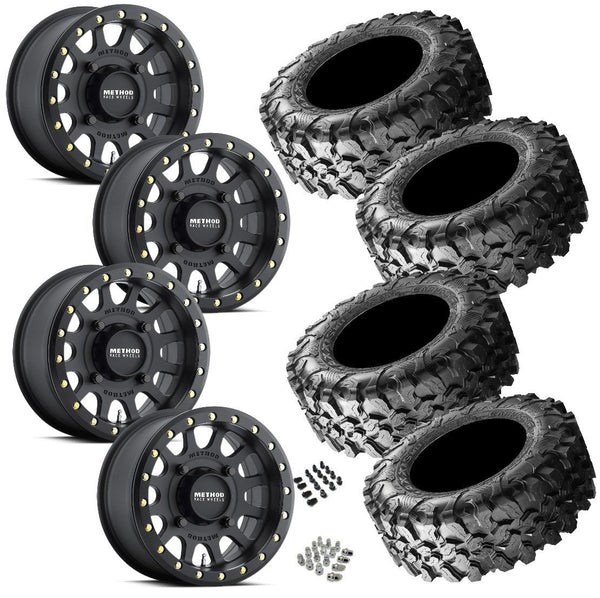 Maxxis Carnivore 29-9.5-15 on Method 401 Beadlock Matte Black