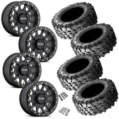 Maxxis Carnivore 32-10-14 on Method 401 Beadlock Matte Black