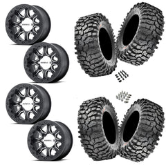 MSA R Forged F1 Beadlock Maxxis Roxxzilla 30-10-14 Wheel and Tire Package 4/156