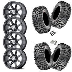 Maxxis Roxxzilla 32-10-14(Comp Compound) on MSA M12 Diesel 14x7
