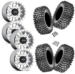Maxxis Roxxzilla 32-10-14(Comp Compound) on Method 401 Beadlock Machined