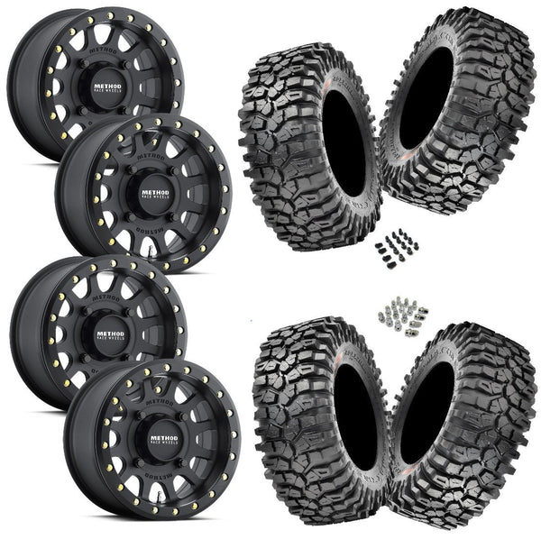 Maxxis Roxxzilla 30-10-14 on Method 401 Beadlock Matte Black