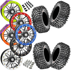 Maxxis Roxxzilla STI HD9 Machined Beadlock Tire Wheel Kit 30-10-14(Firm Compound)