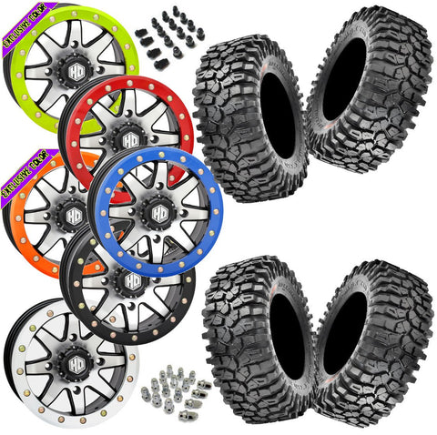 Maxxis Roxxzilla STI HD9 Machined Beadlock Tire Wheel Kit 30-10-14