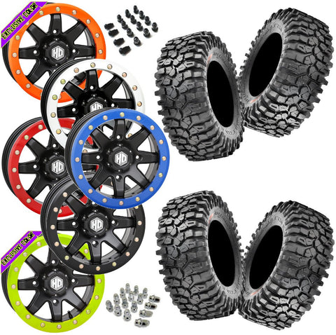 Utv Side By Side Pre Mounted Wheel And Tire Kit Packages