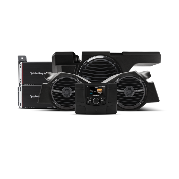 Rockford Fosgate 600 Watt stereo, front speaker and subwoofer kit for 2014-2018 Polaris® RZR® models RZR-STAGE3