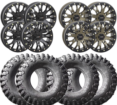 System3 SB 4 and SuperGrip K9 UTV Wheel and Tire Kit