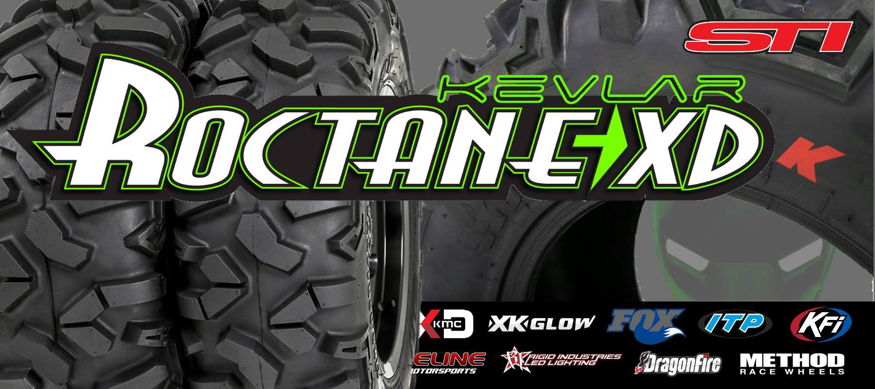 STI Roctane XD Kevlar for polaris rzr