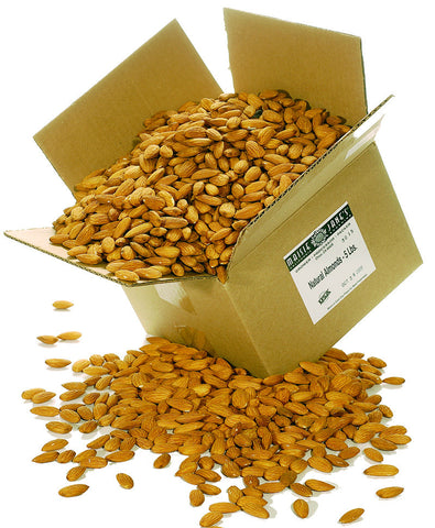 Bulk Organic Whole Almonds