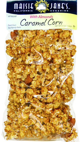 Caramel Corn & Almonds