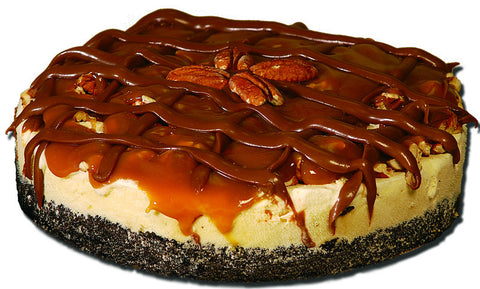 Turtle Pecan Ice Cream Pie