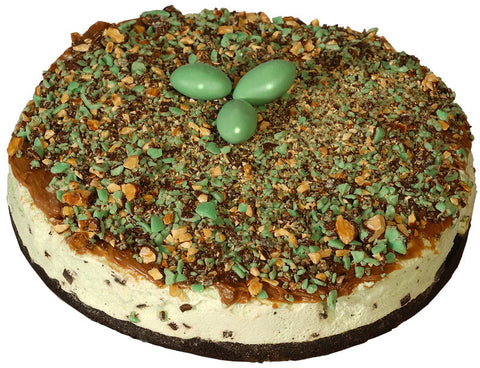 Mint Julep Ice Cream Pie
