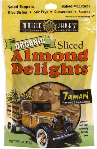 Organic Tamari Sliced Almond Delights