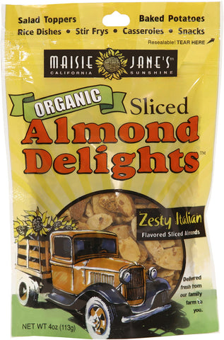 Organic Zesty Italian Sliced Almond Delights