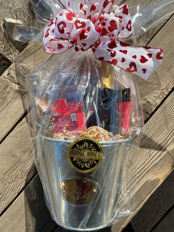 Cheers! to Valentine's Day Basket