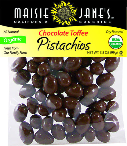 Organic Chocolate Toffee Pistachios
