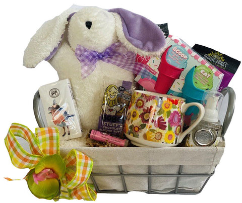 Bountiful Bunny Gift Basket