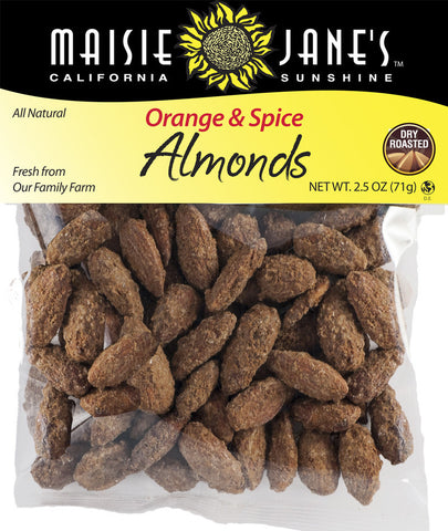 Orange & Spice Almonds