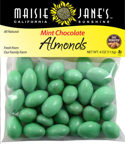 Mint Chocolate Almonds