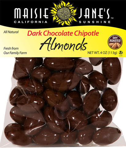 Dark Chocolate Chipotle Almonds