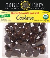Organic Dark Chocolate Sea Salt Cashews
