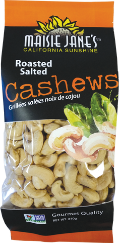 12 oz Roasted Salted Cashews