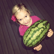 Allie with Jubilee - 2016.  Watermelon Seeds
