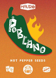 Poblano Pepper Seeds