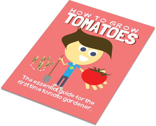 Learn how to grow tomatoes from seed with the Garden 1.0 Grow Guide.  Include free in the Heirloom Tomato Seed Kit.