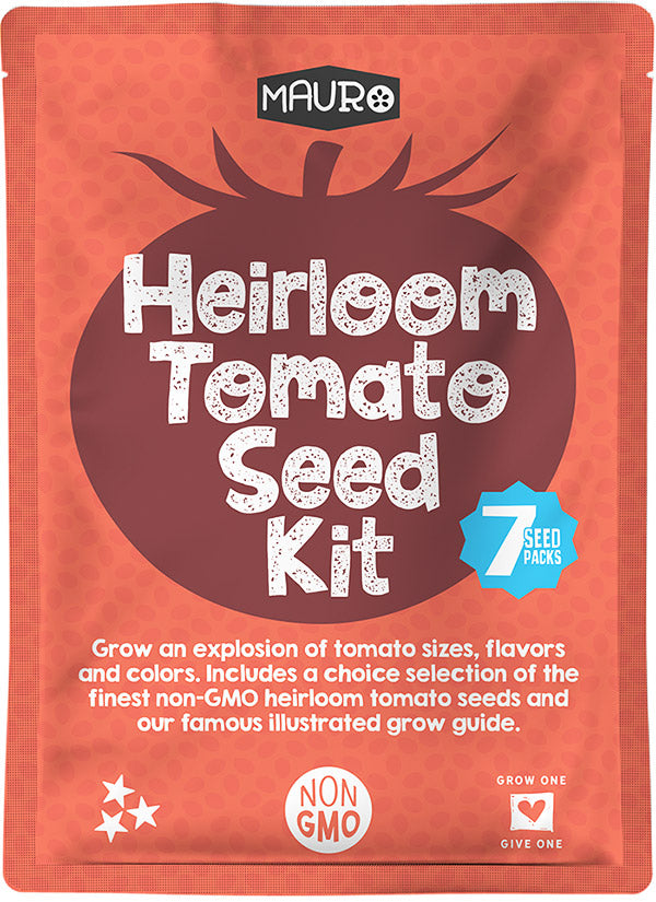 Heirloom Tomato Seed Kit.
