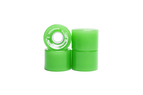 Jellyrolls_62mm_80a_Skate_cruiser_Wheels_Lime