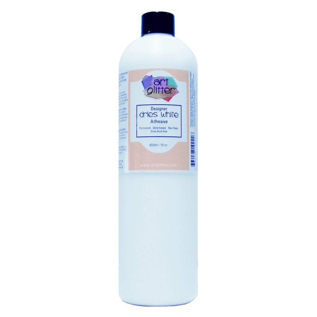 16 OZ DESIGNER DRIES WHITE ADHESIVE