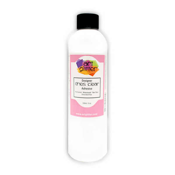 8 OZ DESIGNER DRIES CLEAR ADHESIVE