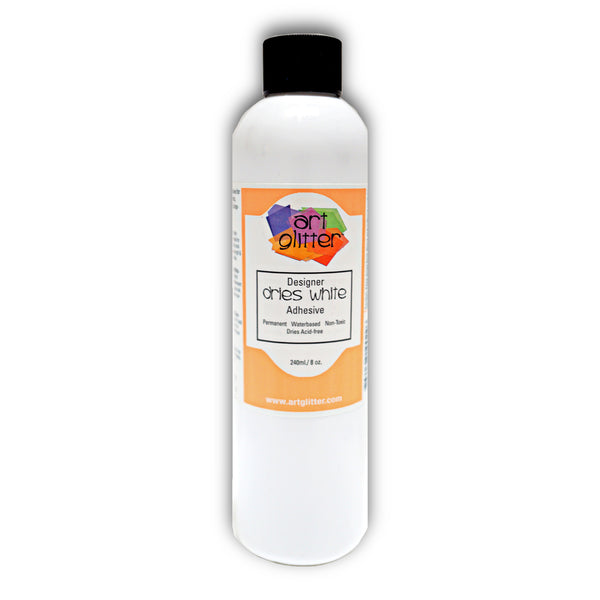 8 OZ DESIGNER DRIES WHITE ADHESIVE