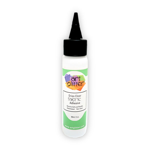 2 OZ FABRIC DRIES CLEAR ADHESIVE