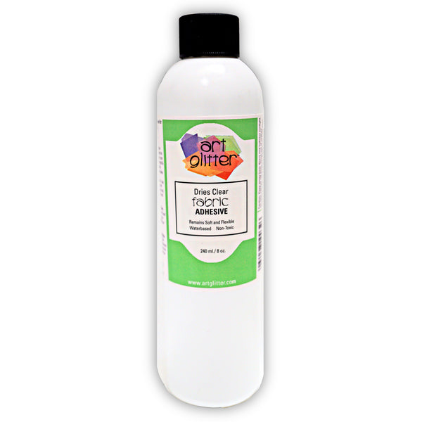 8 OZ FABRIC DRIES CLEAR ADHESIVE
