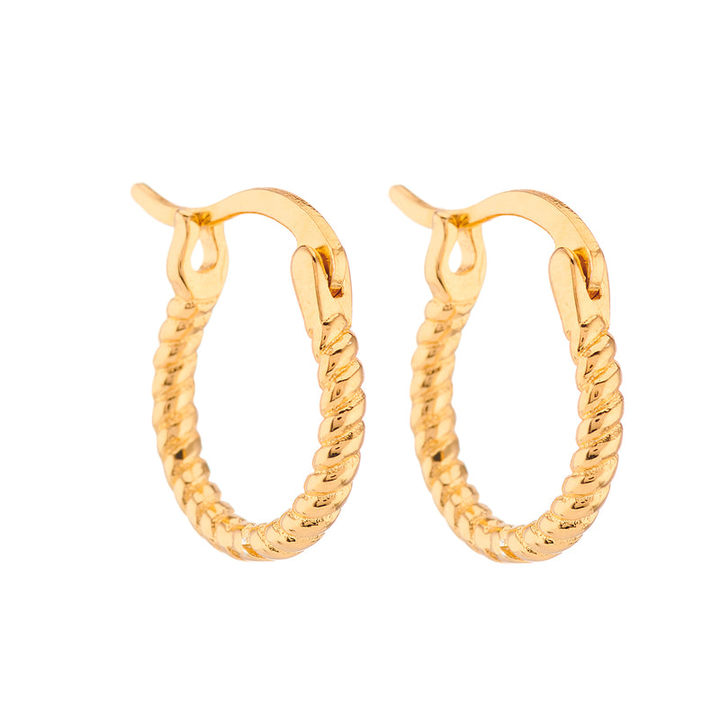 Roped Earrings