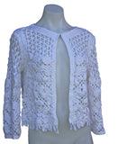 Sheer Crochet Cardigan
