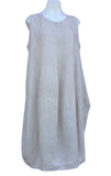 Long Linen Sleeveless Dress