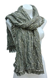 Elegant Floral Lace Shoulder Wrap/Scarf