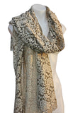 Elegant Floral Lace Shawl Scarf Shoulder Wrap